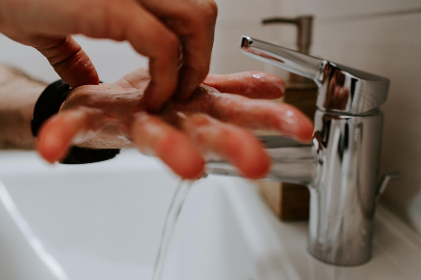Οδηγίες για το σωστό πλύσιμο των χεριών