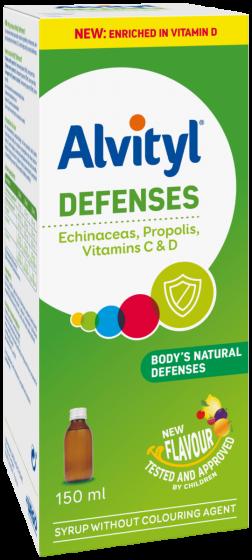 Alvityl | Defenses για Ενίσχυση της Φυσικής Άμυνας του Οργανισμού | 150ml
