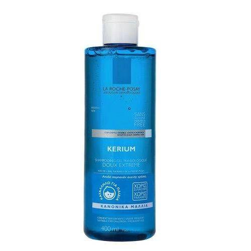 La Roche - Posay | Kerium Shampoo Doux Extreme| Απαλό Σαμπουάν για Κανονικά Μαλλιά | 400ml