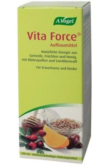 A. Vogel | Vita Force | Πολυβιταμινούχο, Tονωτικό Σκεύασμα από Super Τρόφιμα | 200ml