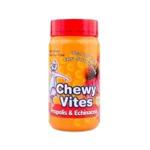 Chewy Vites Propolis - Echinacea |Συμπλήρωμα Διατροφής Πρόπολη-Εχινάκεια για Παιδιά σε Μορφή Ζελεδάκια- Αρκουδάκια | 60 τμχ