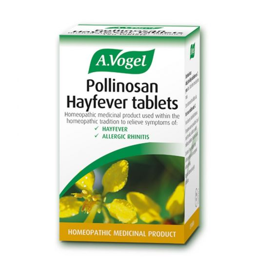 A. Vogel   Pollinosan Hayfever Luffa Tablets   Ταμπλετες Λούφα   120Tablets