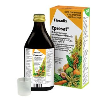 Power Health | Floradix Epresat | Πολυβιταμινούχο Συμπλήρωμα Διατροφής | 250ml