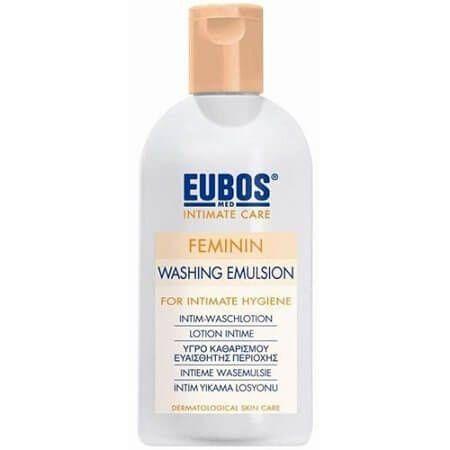 Eubos | Feminin Washing Emulsion | Απαλό Υγρό Καθαρισμού της Ευαίσθητης Περιοχής | 200ml