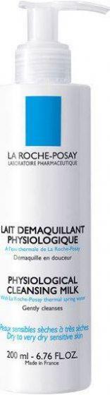 La Roche -Posay   Physiological Cleansing Milk   Απαλό Γαλάκτωμα Ντεμακιγιάζ   200ml